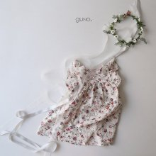 Bebe flora ops<br>Ivory/Gray<br>『bebe de guno.』<br>17SS