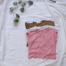 Slab T<br>pink/brown/white<br>『nijiiro select』<br>17SS<br>定価<s>1,700円</s>&nbsp;<b>20%Off</b>
