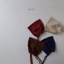 Kokal Bonnet<br>Ivory/Brown/Burgundy/Blue<br>『guno.』<br>17FW