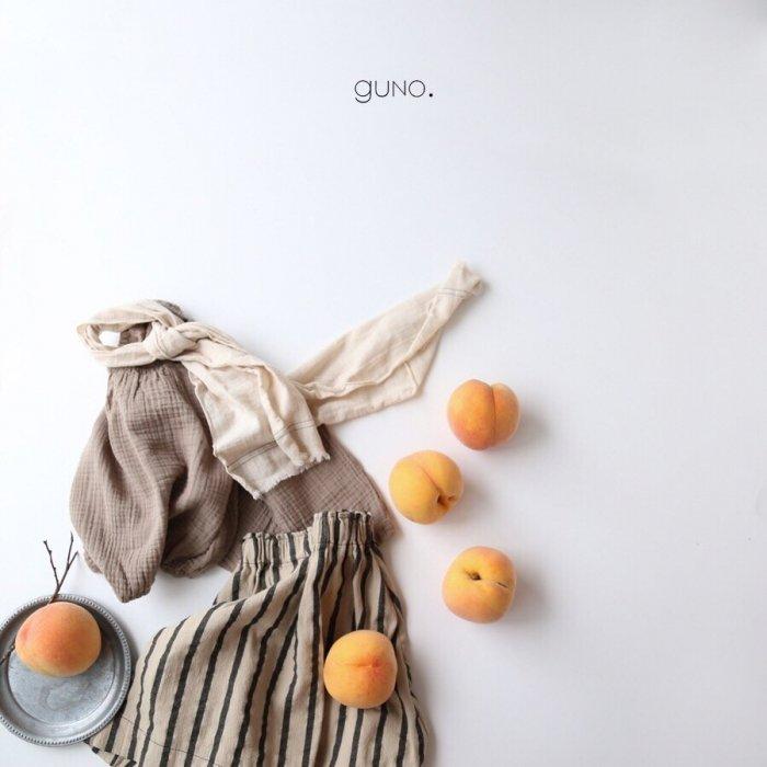 niro gaori blouseBeige『guno.』17FW