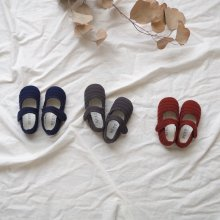 Quilted shoes<br>3 Color<br>『NEKO』<br>17FW