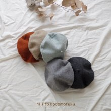 Beret<br>5 Color<br>『nijiiro select』<br>17FW