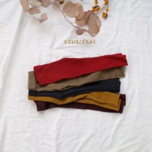 Co Rib leggings<br>5 Color<br>『cotton mill』<br>17FW