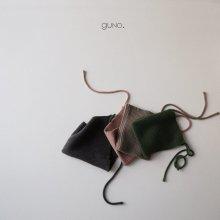 Maki knit bonnet<br>4 Color<br>『bebe & kids de guno.』<br>17FW<br>定価<s>1,800円</s><b>20%Off</b>