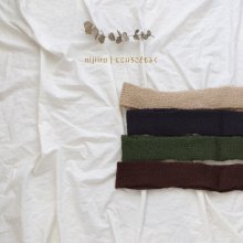 Soft muffler<br>4 color<br>『matz hana』<br>17FW