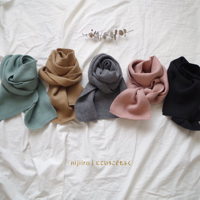 natural muffler5 color『Select』17FW