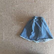 powder skirt<br>indigo<br>『O'ahu』<br>18SS<br>定価<s>3,200円</s>&nbsp;<b>10%Off</b>