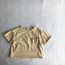 Greeny T-shirt<br>yellow<br>『O'ahu』<br>18SS