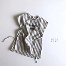 ST Linen Dress<br>Gray<br>『MINI ROBE』<br>18SS<br>定価<s>3,400円</s> <b>20%Off</b>