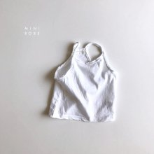 No Sleeve T<br>white<br>『MINI ROBE』<br>18SS<br>定価<s>1,500円</s>&nbsp;<b>20%Off</b>