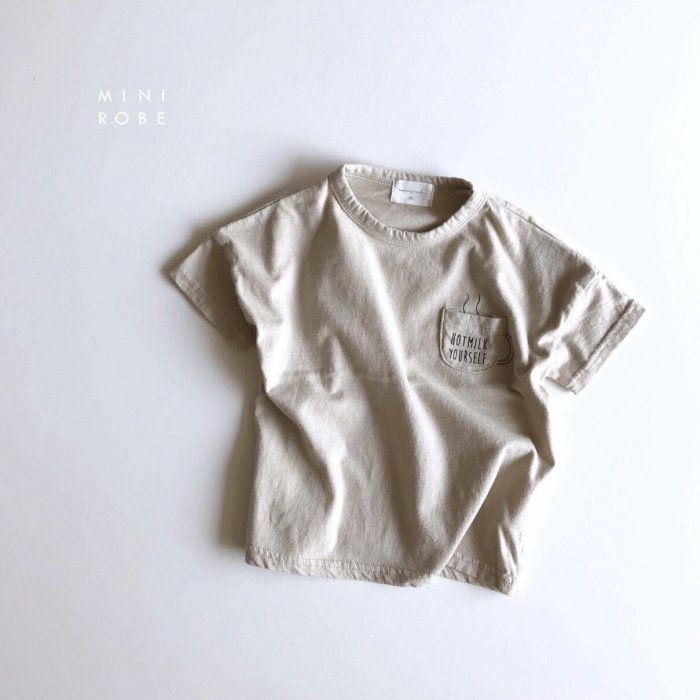 Hot Milk Tgray beige『MINI ROBE』18SS