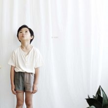 inu henry neck tee<br>oatmeal<br>『O'ahu』<br>18SS<br>定価<s>1,900円</s>&nbsp;<b>20%Off</b>