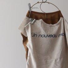 nouveau sleeveless<br>ivory<br>『guno.』<br>18SS<br>定価<s>1,600円</s><b>10%Off</b>