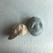 siho linen cap<br>Orange/mint<br>『O'ahu』<br>18SS