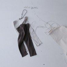 bebe vintage leggings<br>2 color<br>『bebe de guno.』<br>18FW<br>定価<s>1,500円</s>&nbsp;<b>10%Off</b>