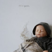 bebe maki bonnet<br>2 color<br>『bebe de guno.』<br>18FW<br>定価<s>1,900円</s><b>10%Off</b>