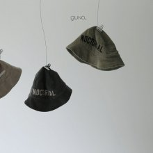 nocturnal bucket hat<br>3 Color<br>『guno・』<br>18FW <br>定価<s>2,300円</s> <b>10%Off</b>