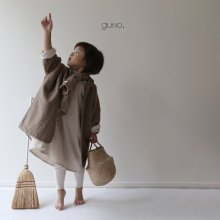 november long jk<br>beige<br>『guno・』<br>18FW