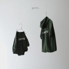 libert&#233;  hood ops<br>green<br>『guno・』<br>18FW <br>定価<s>4,080円</s>&nbsp;<b>10%Off</b><br>S Only