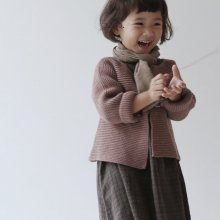 france cardigan<br>Pink<br>『guno・』<br>18FW<br>定価<s>3,700円</s> <b>10%Off</b>