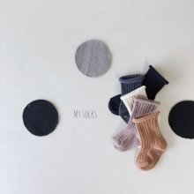 Bakery Set<br>5 color 1 set<br>『MY SOCKS』<br>18FW