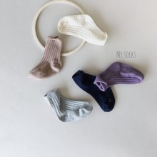 Zoo set<br>5 color 1 set<br>『MY SOCKS』<br>18FW