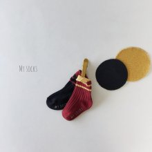 Pepper set<br>2 color 1 set<br>『MY SOCKS』<br>18FW