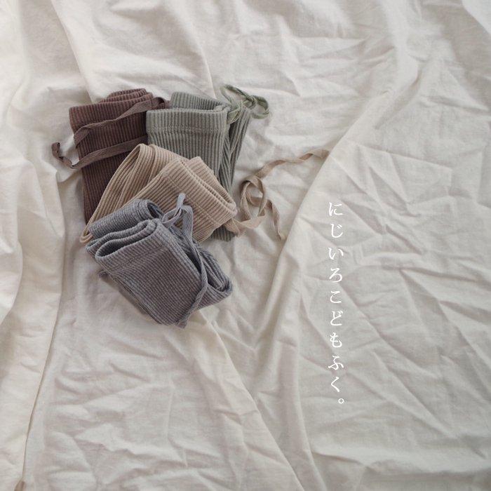 Jr._Fall Rib leggings4 Color『marvi』...