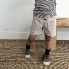 Half pants<br>3 Color<br>XS-XL<br>『marvi』<br>18FW