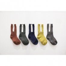 rib socks<br>Fall renga set<br>5 Color Set<br>『yoi』<br>18FW