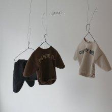 Noël T<br>dark brown<br>『guno・』<br>18FW <br>定価<s>2,900円</s><br>XL