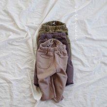 Cotton pocket pt<br>3 color<br>18FW