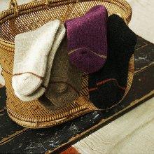 SCON Line Lambs wool Socks<br>4 color<br>18FW