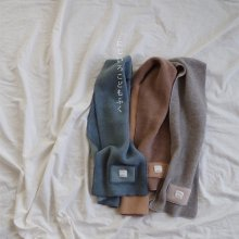 m & j  Fleece muffler<br>3 color<br>18FW