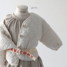 Quilting Donggul JK<br>ivory<br>『guno・』<br>19SS<br>定価<s>5,300円</s> <b>10%Off</b><br>XS/L