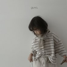 moe stripe T<br>oatmeal<br>『guno・』<br>19SS <br>定価<s>2,080円</s> <b>10%Off</b><br>__S
