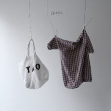 Kubo check ops<br>violet<br>『guno・』<br>19SS <br>定価<s>3,900円</s><br>XS/S/XL