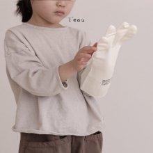 Base simple T<br>grayish ivory<br>『l'eau』<br>19SS <br>定価<s>2,080円</s><br>L/XL