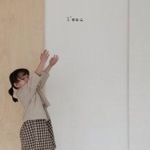 non linen jk<br>graish ivory<br>『 l'eau 』<br>19SS <br>定価<s>4,400円</s><br>M