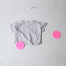 Haruki pocket T<br>light gray<br>『guno・』<br>19SS <br>定価<s>1,760円</s>