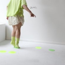 Dot short pt<br>neon green<br>『guno・』<br>19SS <br>定価<s>2,900円</s>
