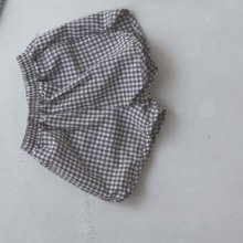 petit check short pt<br>brown<br>『 l'eau 』<br>19SS