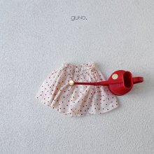 mimi skirt pt<br>red dot<br>『guno・』<br>19SS <br>定価<s>2,900円</s>
