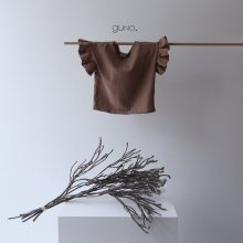 Frill T<br>brown<br>『guno・』<br>19SS <br>定価<s>1,800円</s><br>S/M