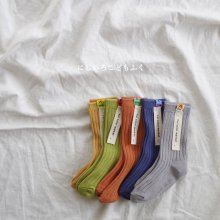 Bear patch socks <br>+ HARIBO<br>5 Color Set<br>『yoi』<br>19SS