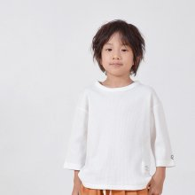 7 bu waffle T<br>white<br>『GENERATOR』<br>19SS <br>定価<s>2,592円</s><br>M/L/XL