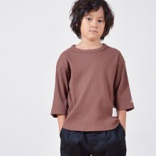 7 bu waffle T<br>brown<br>『GENERATOR』<br>19SS <br>定価<s>2,592円</s>