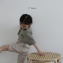 2 pocket stripe pt<br>beige<br>『 l'eau 』<br>19SS <br>定価<s>3,180円</s><br>L/XL
