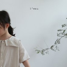 square ops <br>light beige<br>『 l'eau 』<br>19SS <br>定価<s>4,080円</s>