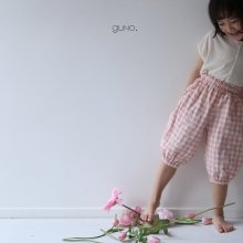 2 style pt<br>pink check<br>『guno・』<br>19SS <br>定価<s>3,060円</s>